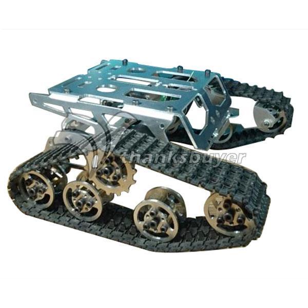 Tanque Chassis Wali Faixa Plataforma Robótica Inteligente Carro para Robot DIY Personalizado