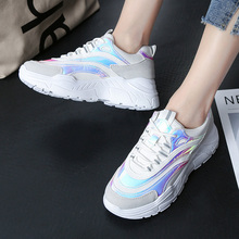 VTOTA Trendy Women Sneakers Ladies Platform Shoes Fashion Breathable Casual Chunky Dad Chaussures  Femme