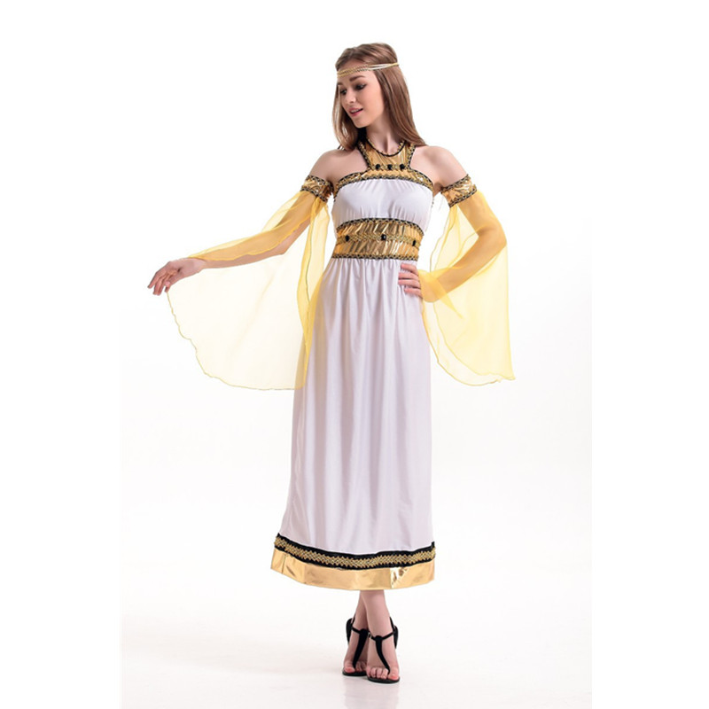 Halloween Exotic Adult sex Cleopatra Costumes Sexy Women Egyptian Pharaoh Cleopatra Cosplay Stage Performance Masquerade Party