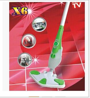 6 в 1 многофункциональная Бытовая Паровая Швабра стерилизации Паровая машина для чистки быстрый пар выдвижной sweeping220V