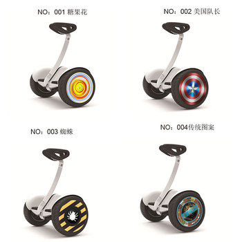 hub sticker for Xiaomi Ninebot 9 scooter  wheel sticker for Xiaomi electric balance scooter two wheel stickers e services logo