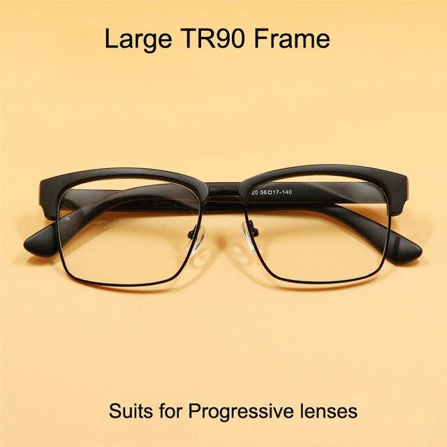2016 hombres recién llegado de gran tamaño gafas de marco TR90 para ...