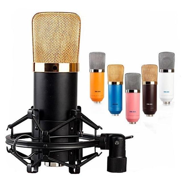 Hot Sale BM-700 Professional Sound Studio Recording Microphone Computer Ktv Capacitance Karaoke Wired Mic Dynamic
