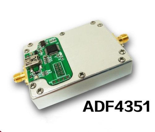 ADF4351 Module de boucle à verrouillage de Phase du générateur de Source RF avec contrôle STM32 SCM