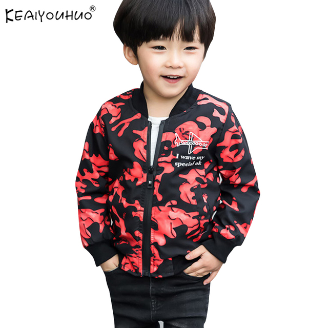 Новые весенние пальто для мальчиков камуфляжные куртки для мальчиков пальто Детская одежда куртки верхняя одежда детская одежда От 2 до 10 лет