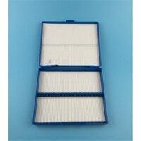 Branco Azul Verde Amarelo Retângulo Forma 100 Caixa De Microscópio Lâminas de Plástico 20 cm x 17 cm x 3 cm