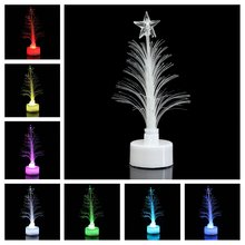 Mini LED Christmas Tree Crystal Christmas Tree Party Decoration Led Night Light Lamp for Christmas Decor Lamp