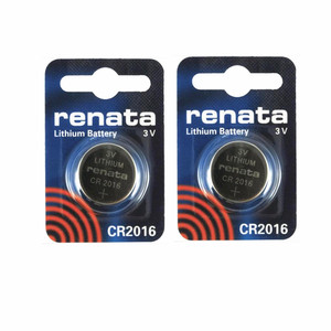 2PCS Original Swiss 2016 renata button battery CR2016 watches 3 v battery.Remote control toy car battery free shipping(China)