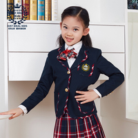 Girls Suit Party Clothing Performance Wear Newest British Style Kids Top Coat Blazers Princess Outfits