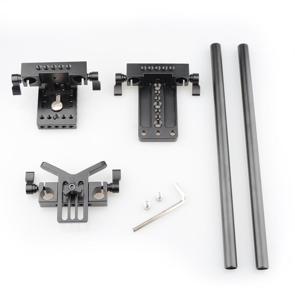 CAMVATE Pro DSLR Shoulder Mount Support Rig Kit For Universal Use (5)