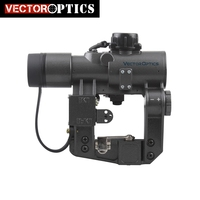 Vector Optics SVD Dragunov 1x28 Red Dot Scope Red Dot Sight Fit SVD AK 7.62 308 Caliber Scope GUN COLLIMATOR SIGHT