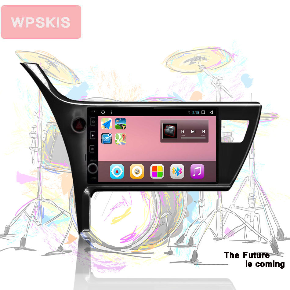 <font><b>Android</b></font> 10.0 In dash car console car radio player for <font><b>Toyota</b></font> <font><b>corolla</b></font> 2016 2017 <font><b>2018</b></font> car dvd gps navigation Tape Recorder System image