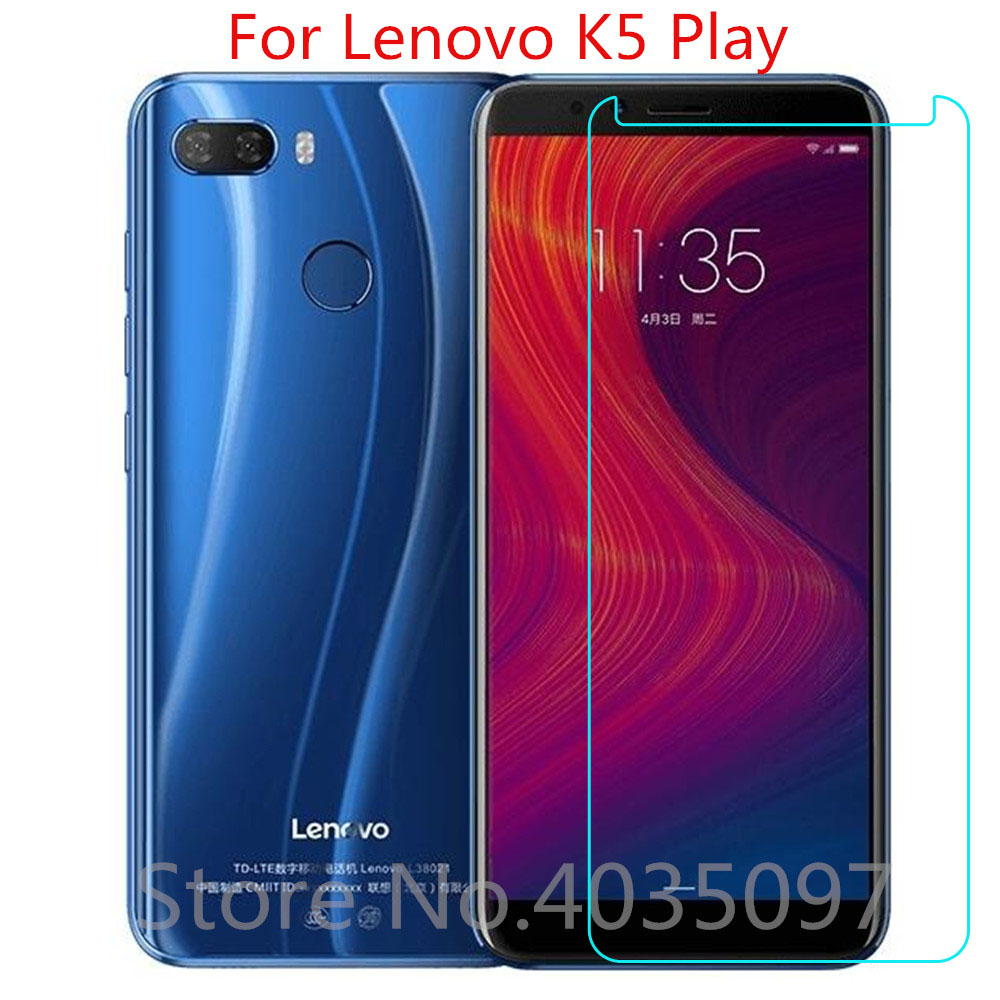 2PCS Tempered Glass For Lenovo K5 Play Screen Protector 9H 2.5D Phone Protective Glass For Lenovo K5 Play Glass