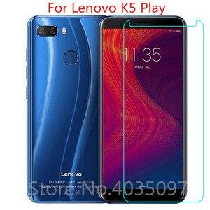 2 шт. закаленное Стекло для lenovo K5 играть Защитная пленка для экрана 9h 2.5D телефон защитный Стекло для lenovo K5 играть Стекло