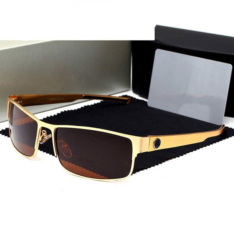 Occhiali Da Sole polarizzati Uomini Mercede Del Progettista di Marca Maschio okulary Occhiali Da Sole Occhiali Oculos Aviador De Sol Masculino Polarizado 610