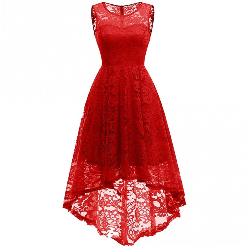 Christmas Summer Long Dresses 2019 Sexy Women Dresses Sleeveless Long Maxi Lace Dress Prom Ballgowns Asymmetrical Hem Vestidos