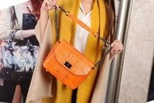 100% Real/Genuine Crocodile skin Womens women shoulder cross bag, alligator skin small women cross body bag sales promotion