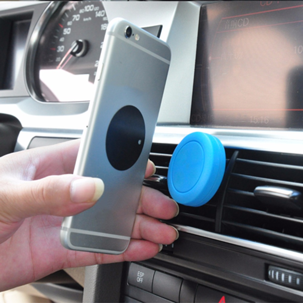 Universal Magnetic Mobile Phone Holders Magnet In Car Phone Holder Air Vent Mount Stand Kit For iPhone Samsung Smart Phone GPS