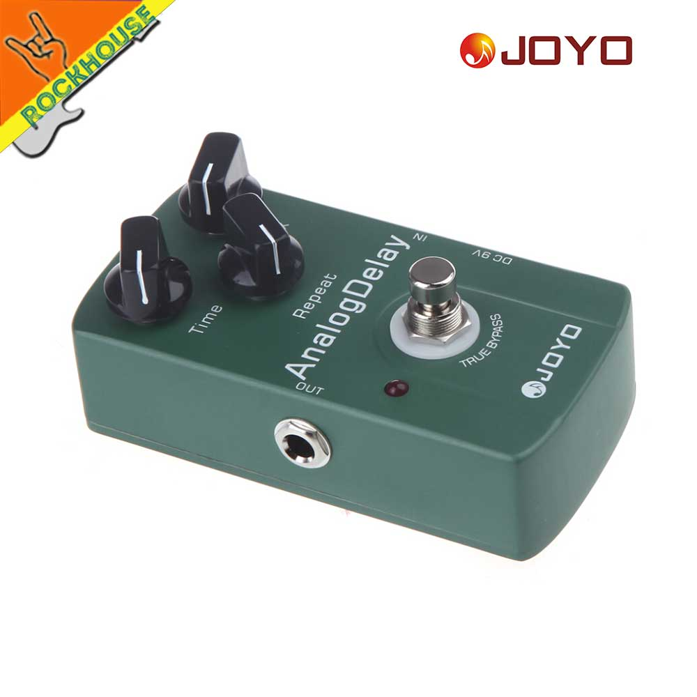 JOYO Analoge vertraging Gitaareffecten Pedaal Gitaar Echo - Muziekinstrumenten - Foto 3