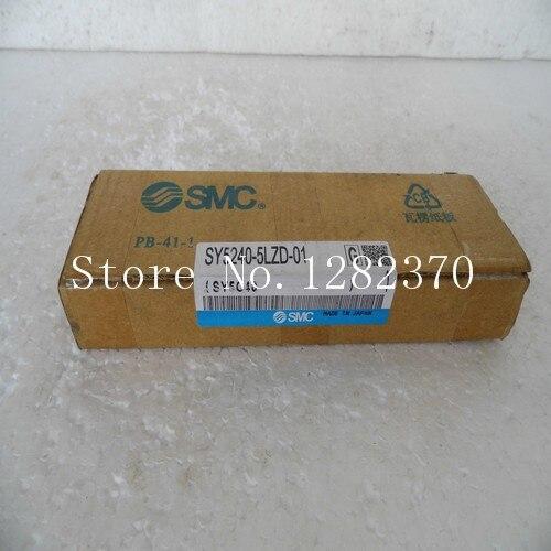 [SA] New original authentic special sales SMC solenoid valve SY5240-5LZD-01 spot --2PCS/LOT [sa] new original authentic special sales smc solenoid valve vqz3121 5yz1 c8 spot
