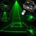 Новый 100 МВт Зеленая Линия Сканер Луч Дистанционного DMX DJ Танец Бар сундук Магазин Xmas Главную Партию Освещения Диско Лазерное Шоу B112