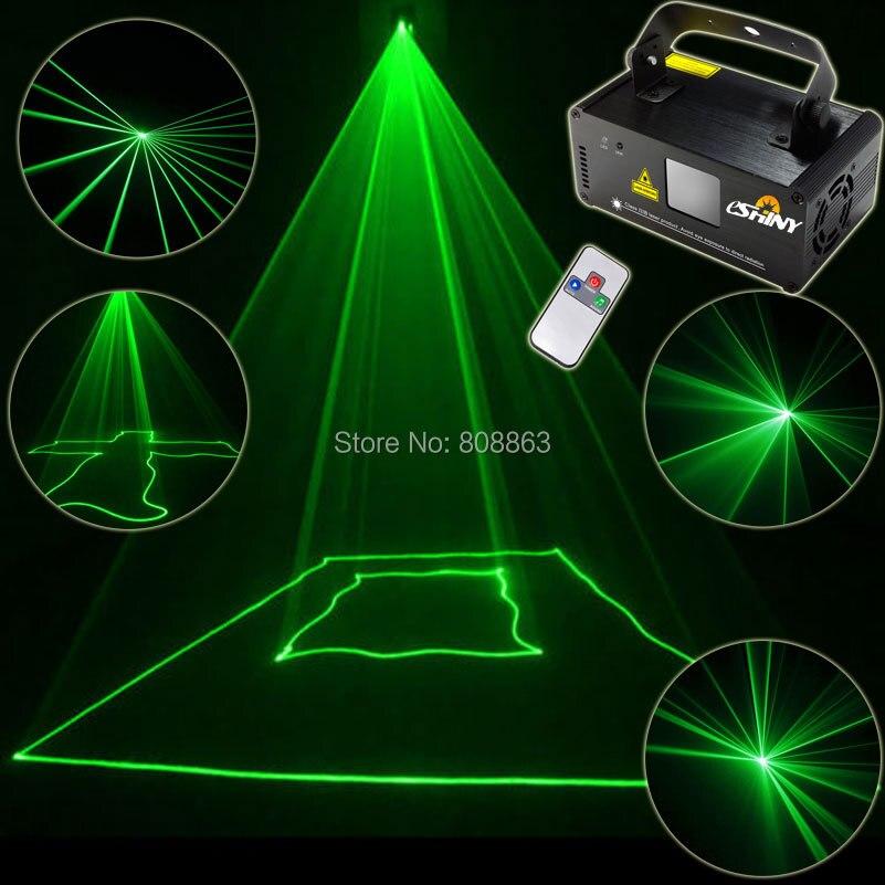 ESHINY MINI Green Laser 100 Line Scanner Beam Remote DMX DJ Dance Bar Coffer Shop Xmas Home Party Disco Lighting Light Show B112