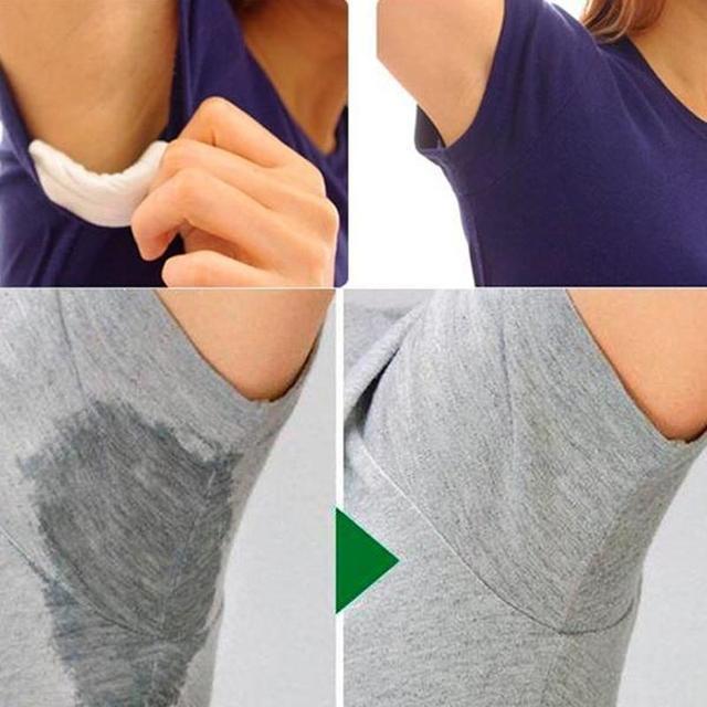 12 PCS Usa E Getta Assorbimento Del Sudore Ascellare Guardia Pads Deodorante Asc
