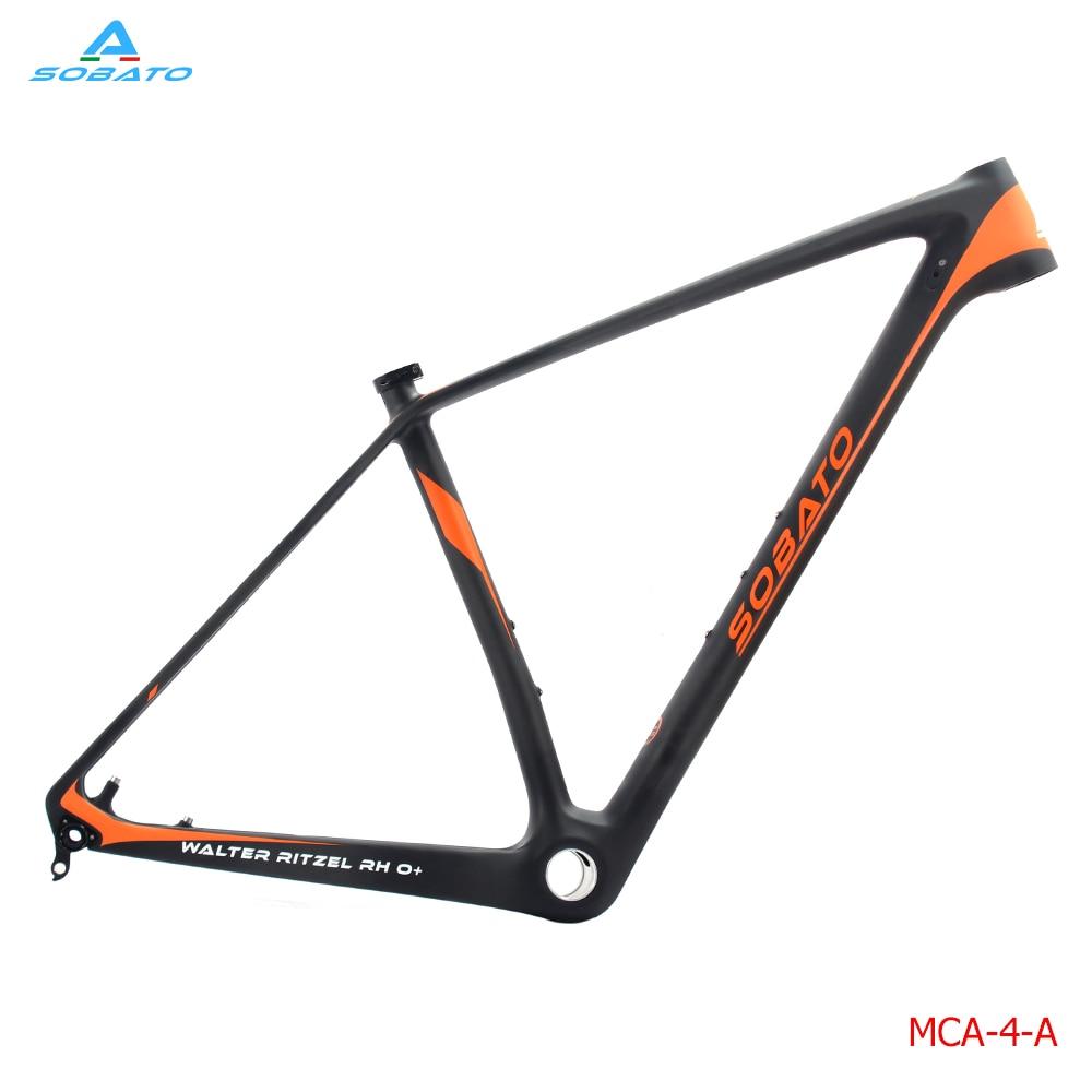 ②2016 full carbon Ud Matt mountain bike 29er MTB BSA Marcos 18.5 ...