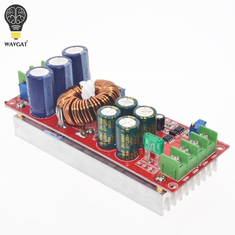 5 pcs/lot 1200 W 20A DC Convertisseur Boost Step-up Module D'alimentation EN 8-60 V OUT 12-83 V