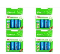 KENTLI 16 шт. стабильный напряжение 3000mWh AA батареи 1,5 В аккумуляторная батарея аа литий полимерный аккумулятор для камеры ect