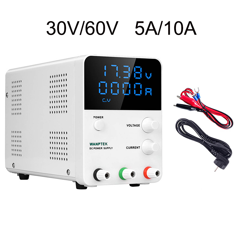 New Mini Adjustable Digital DC Laboratory Switch Power Supply Multifunction LED Lab Source Bench Power Supplies