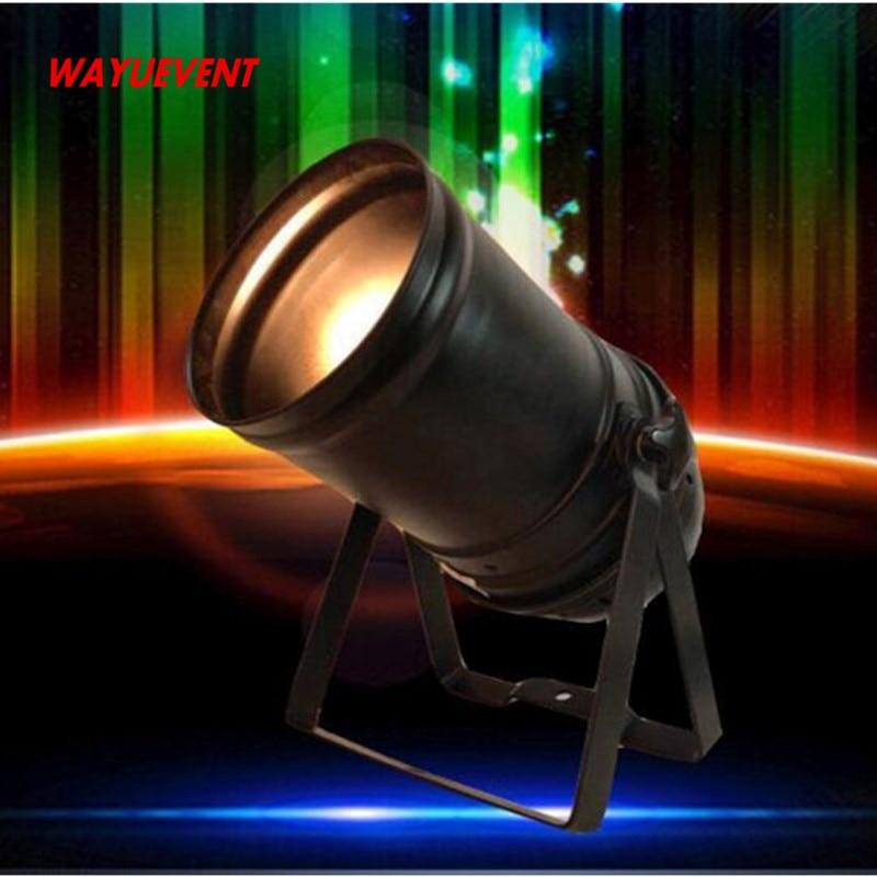 купить Linear ZOOM 15 to 50 Degree 200W COB LED Par Light 3200K Warm White Stage Disco Light DMX LED Par онлайн