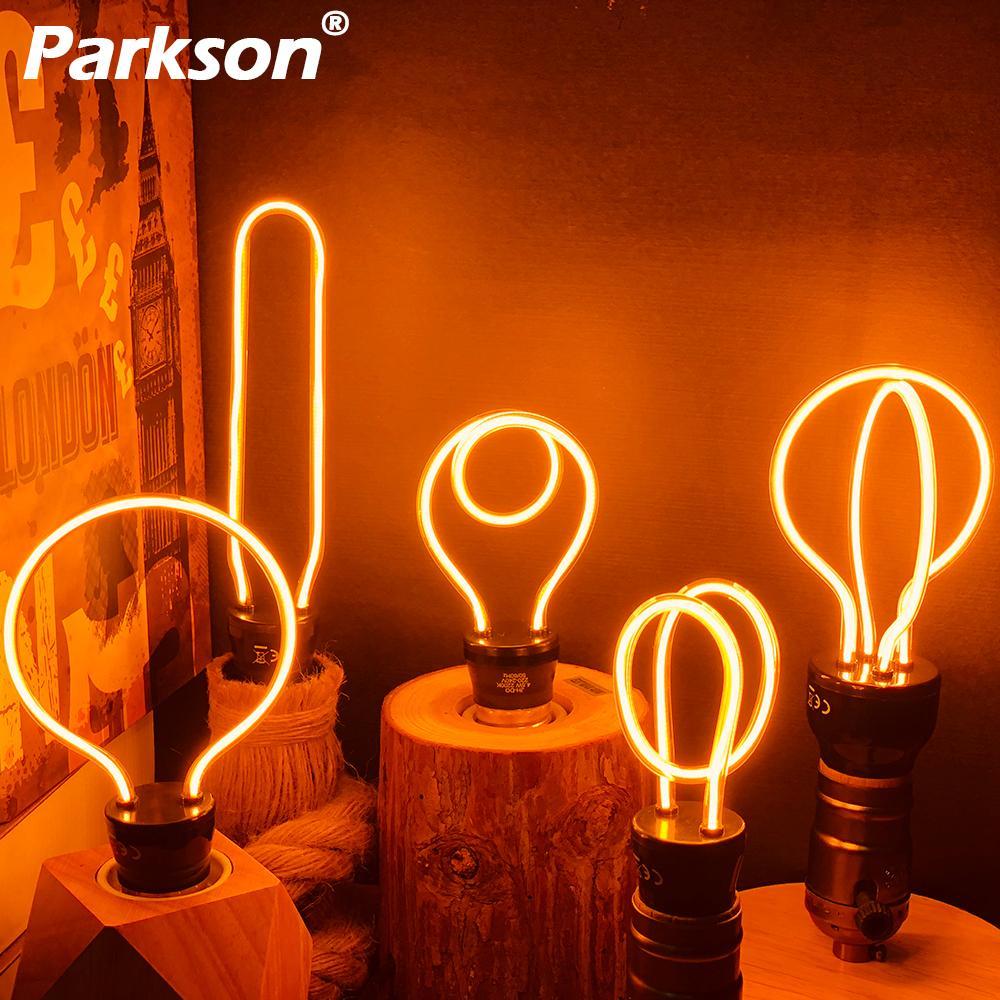 Nova Lâmpada LED Edison Novidade Decoração Lâmpada 220 V E27 4 W 4.5 W 8 W Bombillas CONDUZIU a Lâmpada luzes do feriado Luzes de Natal Lâmpada Lampada