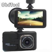 3.0 Pulgadas de Pantalla Full HD 1080 P Coche DVR Mini Vehículo Dash Leva de la Cámara Grabadora de Vídeo Del Coche Registrator Grabadora de Aparcamiento g-sensor