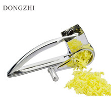 High Quality Stainless Steel Garlic Press Kitchen Gadgets Garlic Crusher Chopper Cooking Tools Fruit & Vegetable Tool FT021