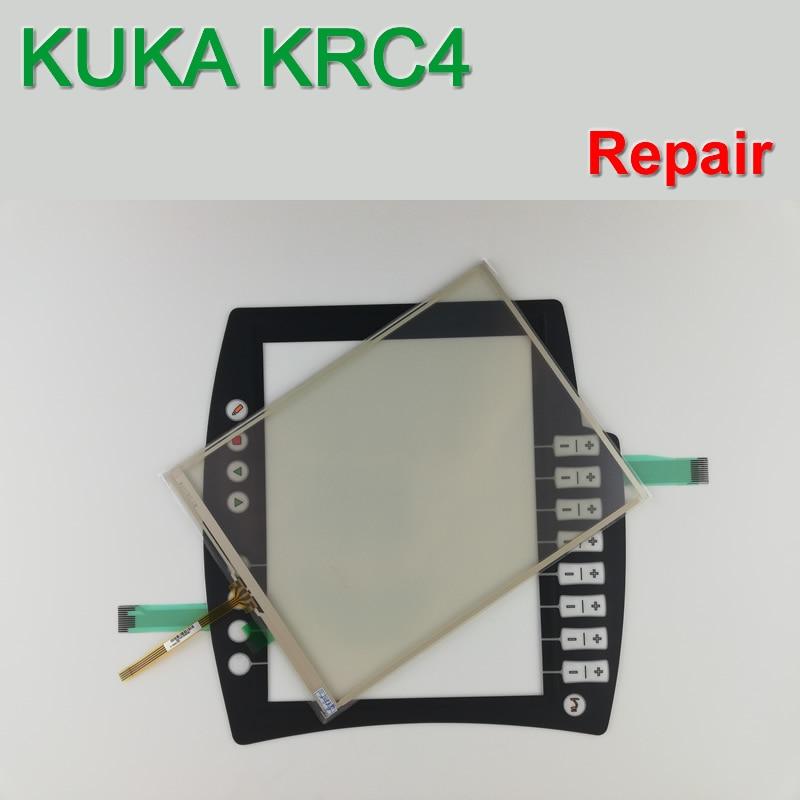 KUKA KCP4 KC P4 00 168 334 Membran Tastatur + Touch Glas für Lehrer Panel reparatur ~ tun es selbst, neue & Haben auf lager-in Platte aus Heimwerkerbedarf bei AliExpress - 11.11_Doppel-11Tag der Singles 1