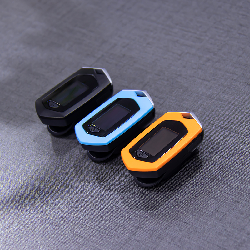 Fingertip Pulse Oximeter with SpO2 and Pulse Sensor to Monitor Blood Oxygen Saturation