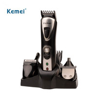 Kemei Original 7 in 1 Electric Shavers Razor Nose Ear Hair Trimmer Men Shaving Machine Rechargeable Hair Clipper