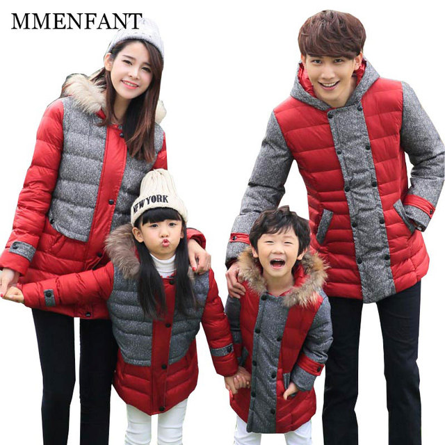 c9b504667a5e Winter jacket outerwear family clothing look matching outfit for mother and daughter  clothes and mother son outfits father baby