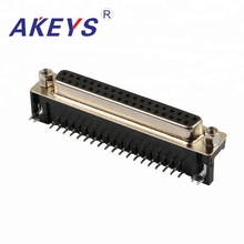 цена на 1 PCS VGA DB37 Pin Black Core Double Row Female Latop DB Male Side Insert To USB AM VGA Audio And Video Interface