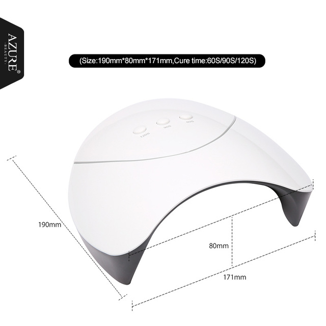 Azure Beauty Z3 36W UV Led Nail Dryer For Professional Nail Art Home Use Nail Gel Lacquer Dryer High Quality Mini USB Lamp