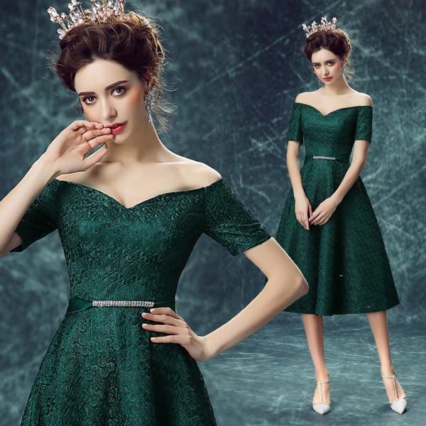 Green Lace deep v-neck Vestido De Madrinha Luxury Appliques Mother of the Bride Dresses