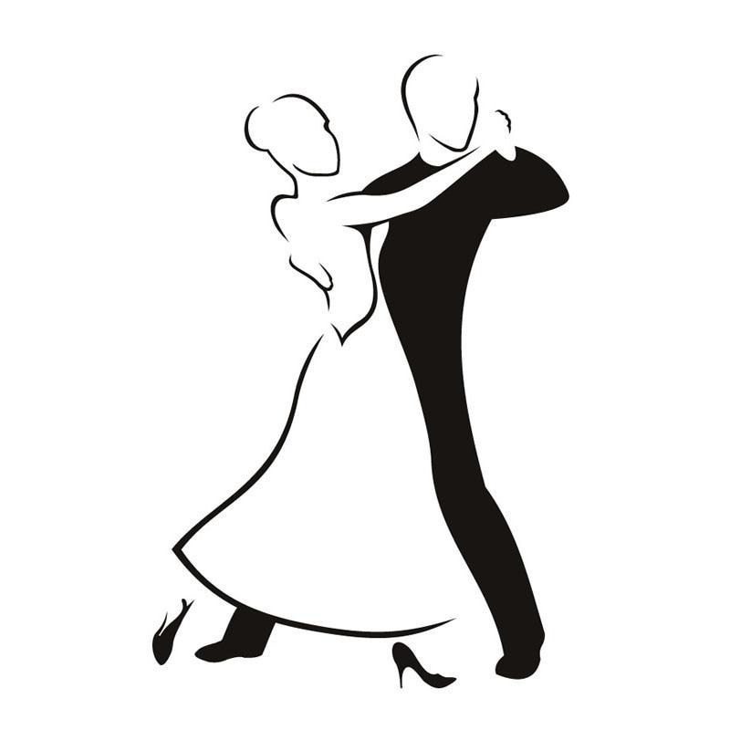 рисунок бальные танцы карандашом дин