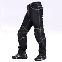 Top Good Motorcycles Pants Riding Denim Jeans racing pants Adult Pants Loose Jeans Black NZK 713