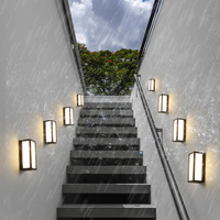 1 pcs pastoral Porch Lights Vintage Balcony Waterproof Wall sconce Outdoor lighting Staircase Lamps Hotel Led Outdoor Wall Light