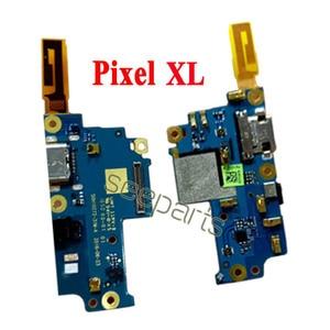 Image 3 - 100% testowane dla Google Pixel 2 Pixel 2XL stacja dokująca USB Port zamiennik kabla Flex Google Pixel 3 4 XL USB płytka ładująca