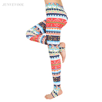 Fitness Floral Legging Women Harajuku Capris Leggings Christmas Hot Sale Gothic Workout Mujer Pencil Pant Striped