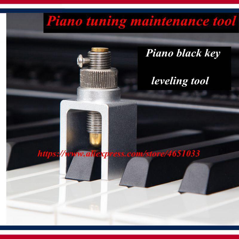Piano Tuning Maintenance Tool, Black Key Flatness, Slope Measurement Tool, Black Key Flatness Tester