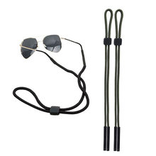 Hot Sales 2Pcs Outdoor Anti-skip Sunglasses Cord Goggle Nylon Strap Holder Adjustable Belt Glasses C