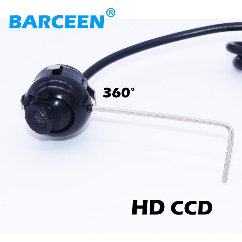Universal Nachtsicht HD CCD 360 grad Auto Rückansicht/vordere/seitliche Kamera alle Winkel Rückfahrkamera Parkplatz kamera für Alle auto